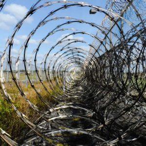 prison razor wire
