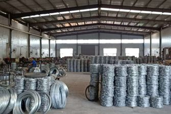 barbed wire workshop factory