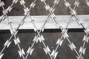 welded razor mesh photo