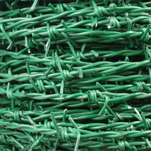 Products-PVC Coated Barbed Wire