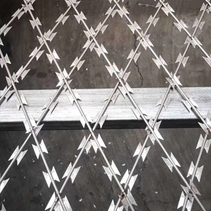 Products-Welded Razor Mesh Fence