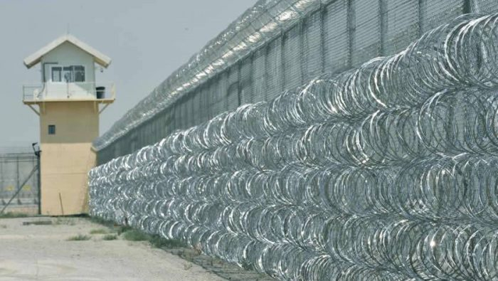 concertina barrier fence