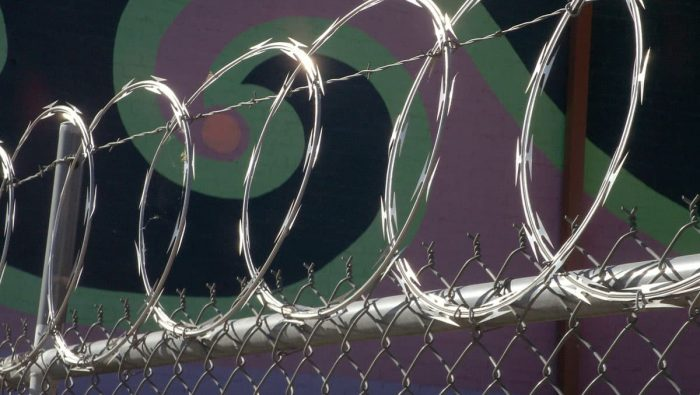 flat wrap razor wire fence