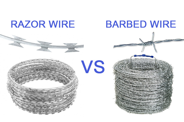 razor wire vs barbed wire - dongfu