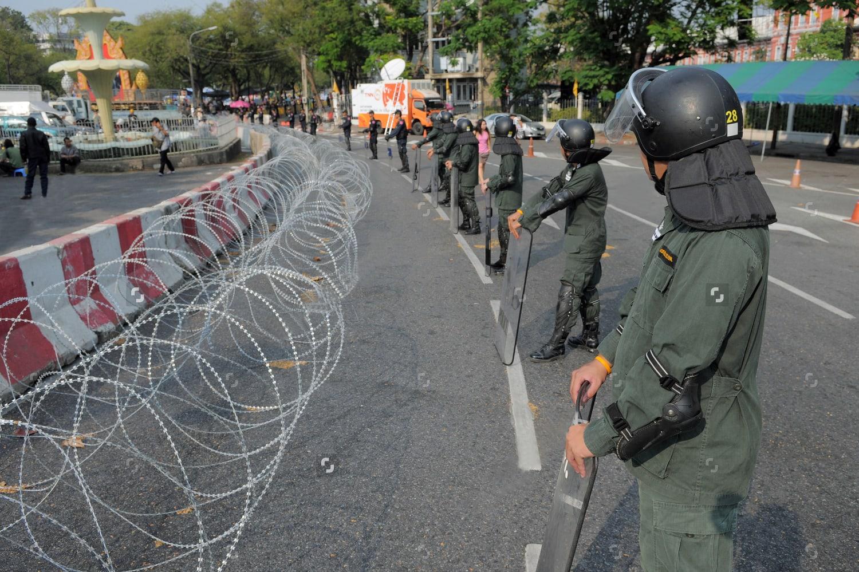 Razor Wire Temporary Hurdle