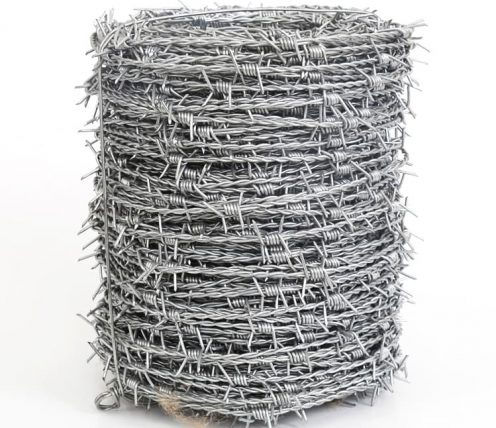 dongfu galvanized barbed wire 496x428